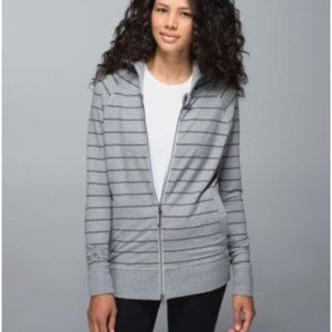 Lululemon Gray Rollin with my Omies Jacket 8